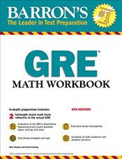 GRE Math Workbook (Barrons GRE Math Workbook) - Madore, Blair