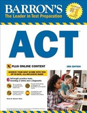 Barrons ACT 3e : with Bonus Online Tests - Stewart, Brian