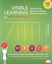 Visible Learning for Mathematics, Grades K-12 : What Works Best to Optimize Student Learning - Hattie, John