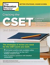 Cracking the CSET : California Subject Examinations for Teachers -