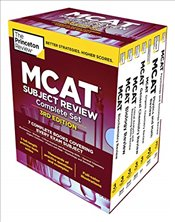 Princeton Review MCAT Subject Review Complete Box Set   -