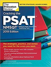 Cracking the PSAT/NMSQT with 2 Practice Tests 2019 Edition  -