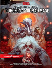 D&d Waterdeep Dungeon of the Mad Mage (D&d Adventure) - Team, Wizards Rpg