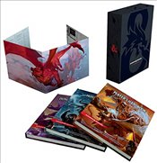 Dungeons & Dragons Core Rulebook Gift Set - Team, Wizards Rpg