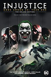 Injustice: Gods Among Us: Year One: The Deluxe Edition - Taylor, Tom