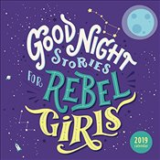 Good Night Stories for Rebel Girls 2019 Square Wall Calendar -