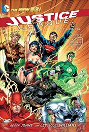 Justice League Volume 1 : Origin TP (The New 52) - Johns, Geoff