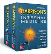 Harrisons Principles of Internal Medicine 20E (Vol.1 & Vol.2) - Kasper, Dennis L.