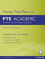 Pearson Test of English Academic Practice Tests Plus and CD-ROM with Key Pack - Kolektif