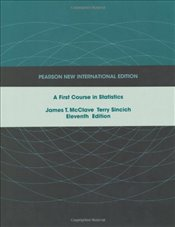 First Course in Statistics 11e PNIE - McClave, James T.