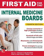 First Aid for the Internal Medicine Boards 4e - Le, Tao