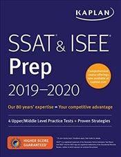 SSAT & ISEE Prep 2019-2020 : For Private and Independent School Admissioins - Kaplan