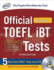 Official TOEFL IBT Tests Volume 1 with DVD 3e - ETS