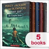 Percy Jackson & The Olympians Boxed Set The Complete Series 1-5: The Last Olympian, The Battle of th - Riordan, Rick