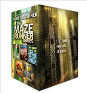 Maze Runner Series Complete Collection Boxed Set (5-Book) - Dashner, James