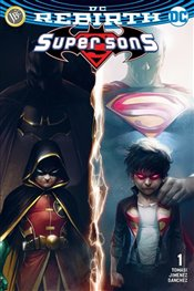 Super Sons Sayı 1 : DC Rebirth - Tomasi, Peter J