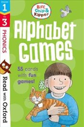 Read with Oxford : Stages 1-3 : Biff, Chip and Kipper : Alphabet Games Flashcards - Hunt, Roderick