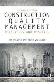 Construction Quality Management - Howarth, Tim