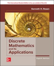 Discrete Mathematics and its Applications 8e (with code) - Rosen, Kenneth