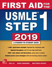 First Aid for the USMLE Step 1 2019 - Le, Tao
