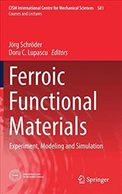 Ferroic Functional Materials : Experiment, Modeling and Simulation  - Schröder, Jörg