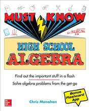 Must Know High School Algebra - Monahan, Christopher