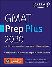 GMAT Prep Plus 2020 : 2 Practice Tests + Proven Strategies + Online + Mobile -