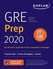 GRE Prep 2020 : Practice Tests + Proven Strategies + Online -