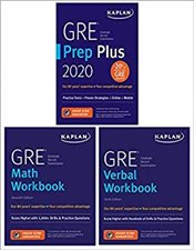 GRE Complete 2020 : 3 Book Set : 6 Practice Tests + Proven Strategies + Online -