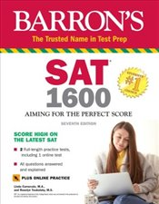 SAT 1600 With Online Test 7e : Aiming for the Perfect Score - Carnevale, Linda