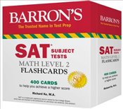 Barrons SAT Subject Test Math Level 2 Flashcards - Ku, Richard