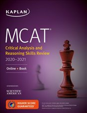 MCAT Critical Analysis and Reasoning Skills Review 2020-2021 : Online + Book  -
