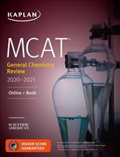 MCAT General Chemistry Review 2020-2021 : Online + Book  -