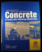 Significance of Tests and Properties of Concrete and Concrete-Making Materials - Lamond, Joseph