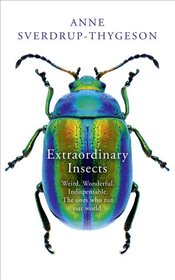 Extraordinary Insects : Weird, Wonderful, Indispensable, the Ones Who Run Our World - Sverdrup-Thygeson, Anne