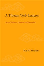 Tibetan Verb Lexicon 2e - Hackett, Paul G.