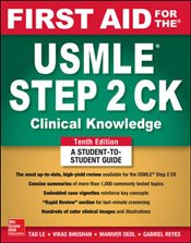 First Aid for the USMLE Step 2 Clinical Knowledge 10e - Le, Tao