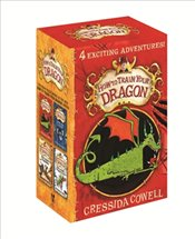 How To Train Your Dragon : 4 Books Set  - Cowell, Cressida