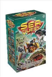Sea Quest Series 3 and 4 : 8 Books Set  - Blade, Adam