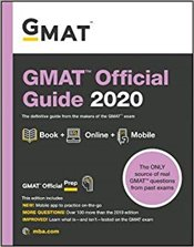 GMAT Official Guide 2020 : Book + Online - GMAC - Graduate Management Admission Council