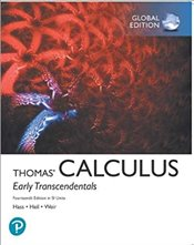 Thomas Calculus 14e : Early Transcendentals in SI Units - Hass, Joel R.