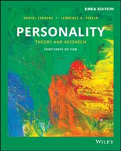 Personality 14e : Theory and Research GE - Cervone, Daniel