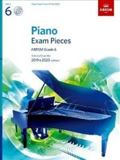 CF Peters Piano Exam Pieces 2019 & 2020 : Grade 6 with Book and CD -