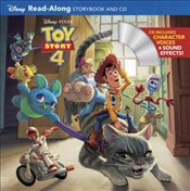 Toy Story 4 : Read-Along Storybook and CD -