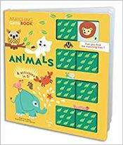 Animals : Matching Game Book - Mercier, Julie