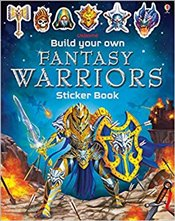 Build Your Own Fantasy Warriors Sticker Book  -