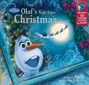 Frozen : Olafs Night Before Christmas : Book and CD - Julius, Jessica