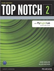 Top Notch 2 Student Book with MyEnglishLab 3e - Ascher, Allen
