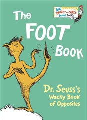 Foot Book : Big Bright and Early Board Books - Dr. Seuss