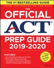 Official ACT Prep Guide 2019-2020, (Book + 5 Practice Tests + Bonus Online Content) -